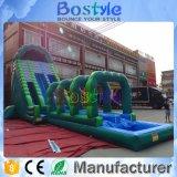 熱い販売水は0.5mm PVCが付いている巨大で膨脹可能なスライドに乗る