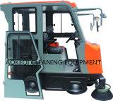 Große industrielle Fußboden-Kehrmaschine-Maschine
