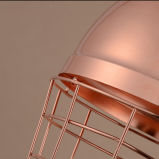 Wundervoller dekorativer Weinlese-Messing LED, der hängende Lampen-Licht für Returant hängt