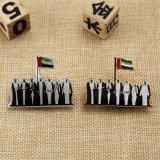 アラブ首長国連邦のためのカスタム金属の銀の金のバッジ