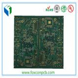 Tarjeta usada para el equipo de la seguridad, fabricante del PWB del control de la impedancia de 4 capas de la tarjeta del PWB