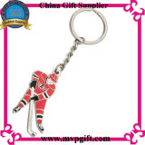 Metal Keyring com o Football para Sports Gift