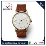 OEMのロゴは歓迎した合金の箱の腕時計の防水腕時計(DC-128)を