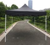 3X3m schwarze im Freienstahl knallen oben Gazebo-faltendes Zelt