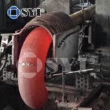 Instalación de tuberías de la autógena de tope