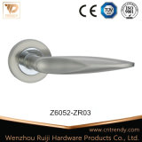 Traitement en alliage de zinc de blocage de porte sur les rosettes carrées (Z6030-ZR03)