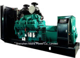 tipo Containerized gerador do dossel de 1100kVA 880kw do diesel de Cummins
