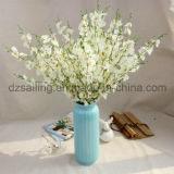 Цветок дешевой орхидеи танцы искусственний для венчания/домашнего украшения (SW02612)