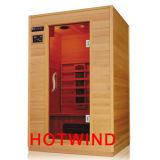 Sauna de madera de la sauna del infrarrojo lejano (SEK-A2)