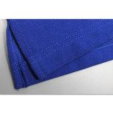 A fábrica fêz a preço barato homens azuis lisos feitos sob encomenda camisa de polo