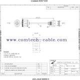 De Chi 9 P Female Head a OBD-II 16p Female Cable
