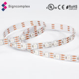 3528/5050SMD coloridos decorativos IP65 impermeabilizan la tira flexible del RGB LED