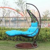 Cadeira de suspensão ao ar livre do Lounger do Chaise do projeto novo