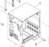 CPU de /Wiring de cadre de CPU de l'imprimante à grande vitesse d'écran (KXFK000HA00)