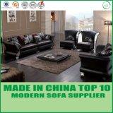 Sofa classique sectionnel de cuir de type de l'Europe