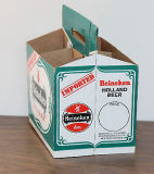 Contenitore di carta di pacchetto dell'imballaggio della birra