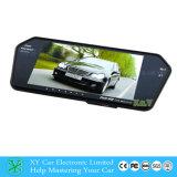Monitor do espelho de opinião traseira TFT do carro LCD, para a câmera reversa, 7 monitor Xy-2058 do Rearview de Bluetooth MP5 da polegada