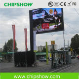 LEIDENE van de Huur van Chipshow P10 Vertoning die de LEIDENE Raad van het Teken adverteert