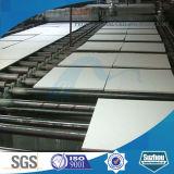 Panneau acoustique de plafond de laines de laitier de qualité
