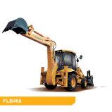 Chargeur FLB468-II 95HP de pelle rétro de matériel de construction de Foton Lovol