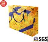 Sacchetto di acquisto trasparente del PVC del sacchetto di plastica con il nastro