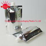 Échantillon en aluminium personnalisé de poche de bec de gousset de bec de poche comique de nourriture