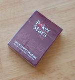 El póker Stars tarjetas del póker de la talla regular