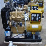 열린 구조 유형 물에 의하여 냉각되는 120kw 디젤 엔진 발전기 Portable 발전기