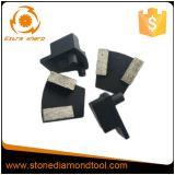 Diamante de moedura concreto do metal de Werkmaster com 2 pinos