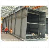 Almacén galvanizada/de la pintura de la estructura de acero con alta calidad