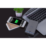 De mobiele Bank Qi 2A van de Macht van de Toebehoren 3800mAh van de Telefoon voerde Draadloze Lader in