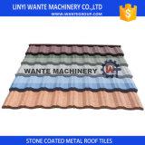 Colores personalizados Tejados de piedra revestidos de metal Azulejos de zinc de aluminio