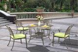 現代高貴な防水鋳造アルミの屋外の庭の家具