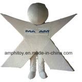 Surtidor modificado para requisitos particulares del traje del carácter de la mascota del hombre de X