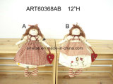 Anjo Gift-2asst do inverno do Handstitched-Avental do Natal
