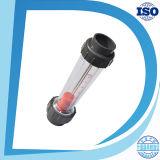 Mètre bon marché de mesure d'écoulement d'eau de rotamètre des prix de raccordement de bride d'outils