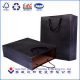 Sacos de empacotamento feitos sob encomenda do papel de embalagem de Brown da cópia de cor do ponto