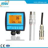 Analizador disuelto en línea industrial aprobado del oxígeno del Ce Dog-2092f con la punta de prueba