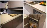 2016年のWelbomの熱い販売のシンプルな設計の現代光沢度の高い食器棚