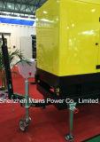 Тип передвижной тепловозный генератор Cummins 135kVA 108kw трейлера