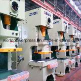 C-Rahmen-örtlich festgelegtes Bett-mechanische Presse-Maschine