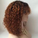 Plein bébé de perruque de cheveu de lacet de première Vierge brésilienne bouclé