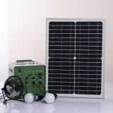 sistema de energia solar portátil de eficiência elevada de 18V/30W F-3017