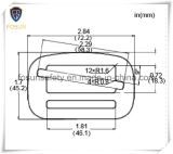 Hebillas del metal de los accesorios del harness de seguridad (K212C)