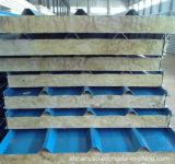 波形アルミニウム岩綿カラー鋼鉄サンドイッチパネル