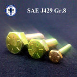 Grad 8 Y.Z.P der Kopfschrauben-SAE J429