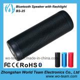 Mini altavoz impermeable de Bluetooth con la entrada de información del USB de la linterna y del soporte