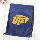 Polyester modificado para requisitos particulares 210d Drawstring Bag con Log M.Y.D-014