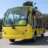 중국 공장 전지 효력 11 Seater 전기 셔틀 차 (DN-11)