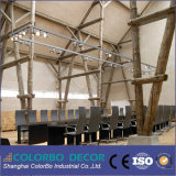 Panneaux de mur acoustiques de copeaux de bois de lutte contre le bruit d'Inter-Location